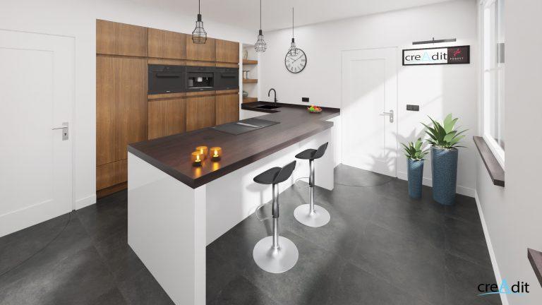 Keuken geheel optie 3