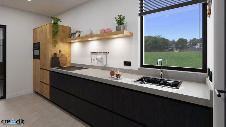 Keuken Fam vd Berg Render 3